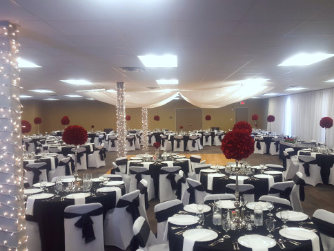 Wedding venue, meeting space, special event venue, private party venue